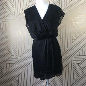 W118  by Walter Baker black dress cinched waist